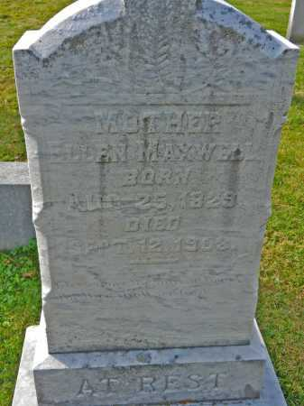MAXWELL, ELLEN - Carroll County, Maryland | ELLEN MAXWELL - Maryland Gravestone Photos