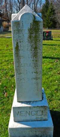 MENGEL, JOHN C. - Carroll County, Maryland   JOHN C. MENGEL - Maryland Gravestone Photos