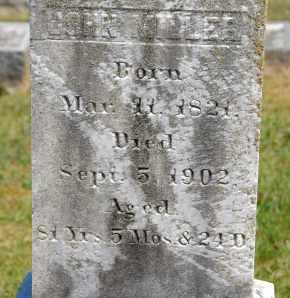 MILLER, JOHN - Carroll County, Maryland | JOHN MILLER - Maryland Gravestone Photos