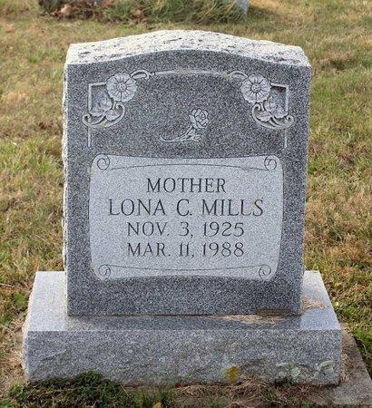 MILLS, LONA C. - Carroll County, Maryland   LONA C. MILLS - Maryland Gravestone Photos