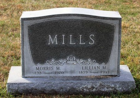 MILLS, MORRIS M. - Carroll County, Maryland | MORRIS M. MILLS - Maryland Gravestone Photos