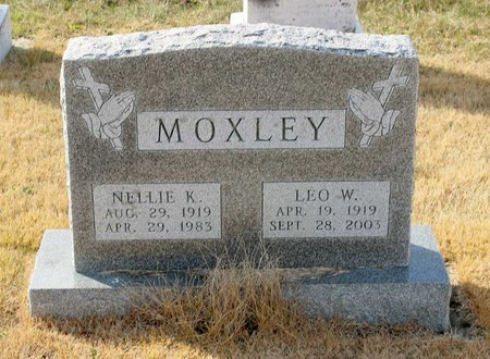 MOXLEY, NELLIE K. - Carroll County, Maryland | NELLIE K. MOXLEY - Maryland Gravestone Photos