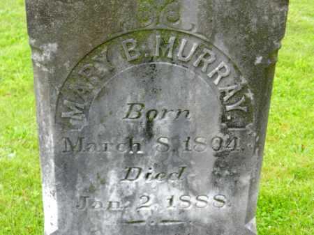 MURRAY, MARY B. - Carroll County, Maryland | MARY B. MURRAY - Maryland Gravestone Photos