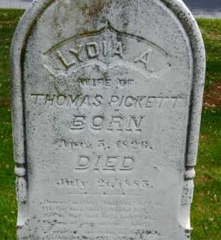 PICKETT, LYDIA A. - Carroll County, Maryland | LYDIA A. PICKETT - Maryland Gravestone Photos