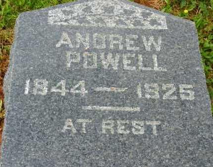 POWELL, ANDREW - Carroll County, Maryland | ANDREW POWELL - Maryland Gravestone Photos