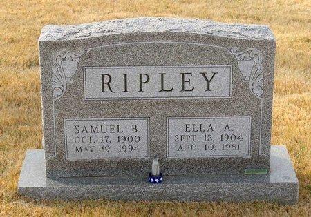 RIPLEY, ELLA A. - Carroll County, Maryland   ELLA A. RIPLEY - Maryland Gravestone Photos