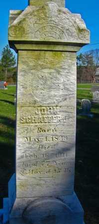 SCHAEFER JR., JOHN - Carroll County, Maryland | JOHN SCHAEFER JR. - Maryland Gravestone Photos