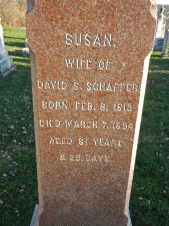 SCHAFFER, SUSAN - Carroll County, Maryland | SUSAN SCHAFFER - Maryland Gravestone Photos