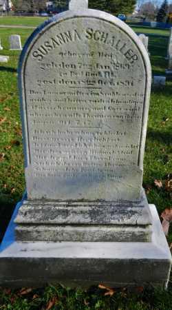 SCHALLER, SUSANNA - Carroll County, Maryland   SUSANNA SCHALLER - Maryland Gravestone Photos