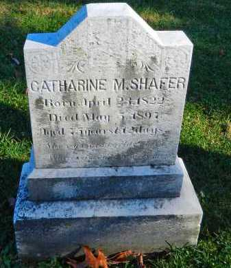 SHAFER, CATHARINE M. - Carroll County, Maryland | CATHARINE M. SHAFER - Maryland Gravestone Photos