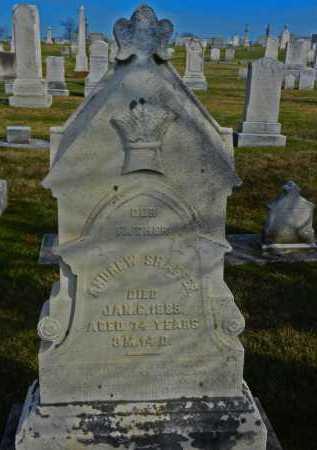 SHAFFER, ANDREW - Carroll County, Maryland | ANDREW SHAFFER - Maryland Gravestone Photos