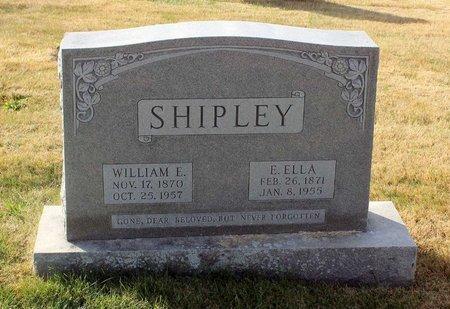 SHIPLEY, E. ELLA - Carroll County, Maryland | E. ELLA SHIPLEY - Maryland Gravestone Photos