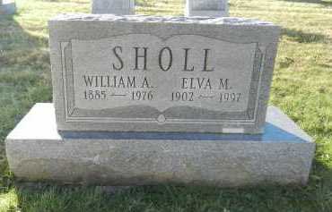 SHOLL, ELVA M - Carroll County, Maryland | ELVA M SHOLL - Maryland Gravestone Photos