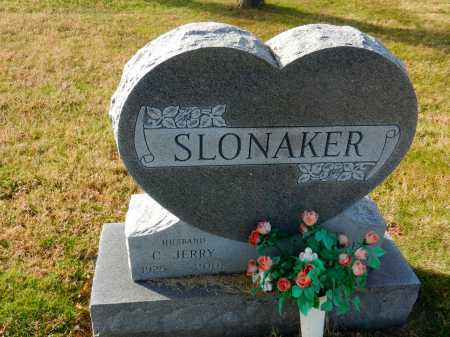 SLONAKER, C. JERRY - Carroll County, Maryland | C. JERRY SLONAKER - Maryland Gravestone Photos