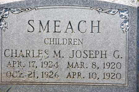 SMEACH, JOSEPH G - Carroll County, Maryland | JOSEPH G SMEACH - Maryland Gravestone Photos