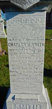SMITH, CHARLES H - Carroll County, Maryland | CHARLES H SMITH - Maryland Gravestone Photos
