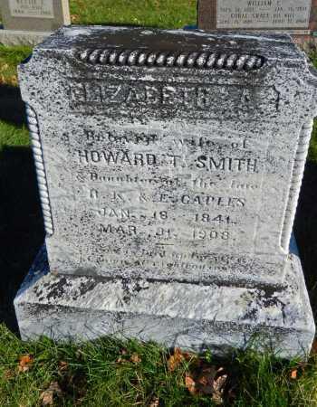 CAPLES SMITH, ELIZABETH A - Carroll County, Maryland | ELIZABETH A CAPLES SMITH - Maryland Gravestone Photos
