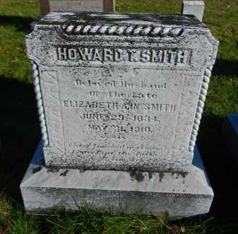 SMITH, HOWARD T. - Carroll County, Maryland | HOWARD T. SMITH - Maryland Gravestone Photos