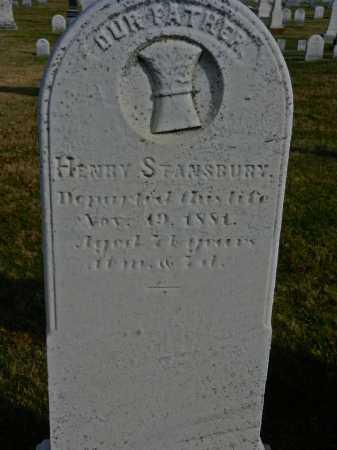STANSBURY, HENRY - Carroll County, Maryland | HENRY STANSBURY - Maryland Gravestone Photos