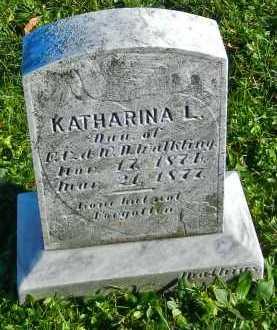 WALKLING, KATHARINA L. - Carroll County, Maryland | KATHARINA L. WALKLING - Maryland Gravestone Photos