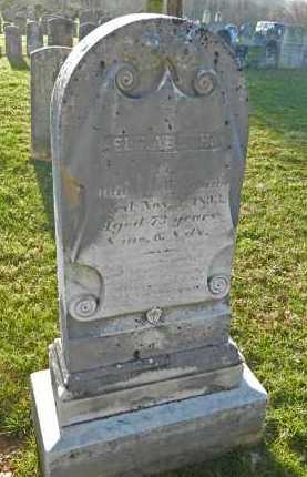 WAREHIME, ELIZABETH - Carroll County, Maryland | ELIZABETH WAREHIME - Maryland Gravestone Photos