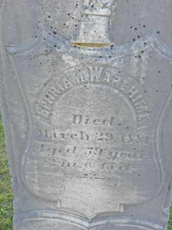 WAREHIME, EPHRIAM - Carroll County, Maryland | EPHRIAM WAREHIME - Maryland Gravestone Photos