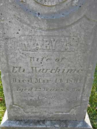 WAREHIME, MARY A - Carroll County, Maryland   MARY A WAREHIME - Maryland Gravestone Photos