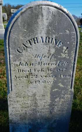 WARNEFELT, CATHARINE A. - Carroll County, Maryland | CATHARINE A. WARNEFELT - Maryland Gravestone Photos