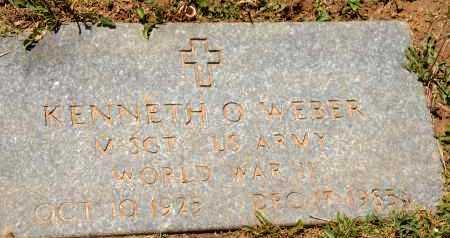 WEBER, KENNETH O. - Carroll County, Maryland | KENNETH O. WEBER - Maryland Gravestone Photos