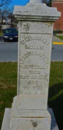 WHEELER, MOLLIE - Carroll County, Maryland   MOLLIE WHEELER - Maryland Gravestone Photos