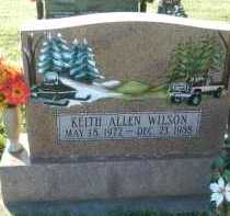 WILSON, KEITH ALLEN - Carroll County, Maryland | KEITH ALLEN WILSON - Maryland Gravestone Photos