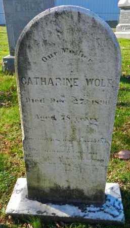 WOLF, CATHARINE - Carroll County, Maryland | CATHARINE WOLF - Maryland Gravestone Photos