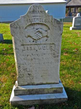 WOLF, JOHN - Carroll County, Maryland | JOHN WOLF - Maryland Gravestone Photos