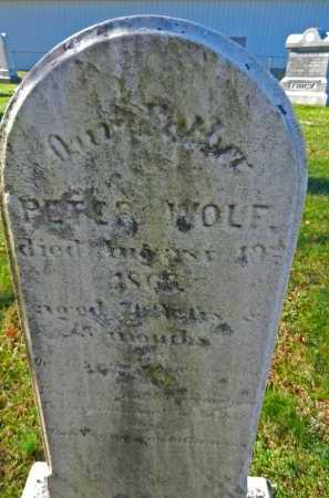 WOLF, PETER - Carroll County, Maryland | PETER WOLF - Maryland Gravestone Photos