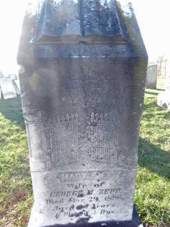 ZEPP, MARY A. E. - Carroll County, Maryland | MARY A. E. ZEPP - Maryland Gravestone Photos