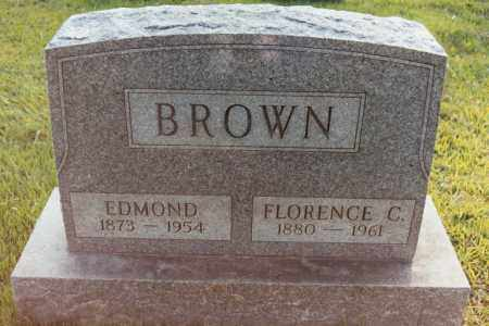 BROWN, FLORENCE - Cecil County, Maryland | FLORENCE BROWN - Maryland Gravestone Photos