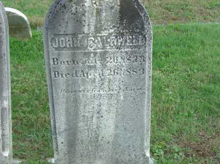 CALDWELL, JOHN - Cecil County, Maryland | JOHN CALDWELL - Maryland Gravestone Photos