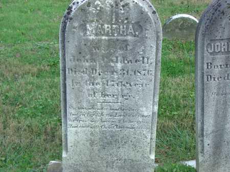 CALDWELL, MARTHA - Cecil County, Maryland | MARTHA CALDWELL - Maryland Gravestone Photos