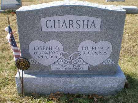 CHARSHA, JOSEPH OLIVER - Cecil County, Maryland | JOSEPH OLIVER CHARSHA - Maryland Gravestone Photos
