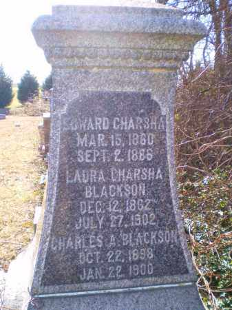 SENTMAN CHARSHA, LAURA - Cecil County, Maryland | LAURA SENTMAN CHARSHA - Maryland Gravestone Photos