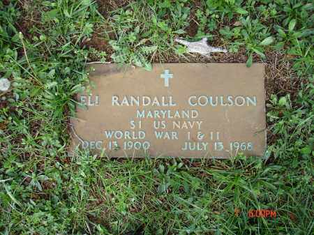 COULSON, ELI RANDALL - Cecil County, Maryland | ELI RANDALL COULSON - Maryland Gravestone Photos
