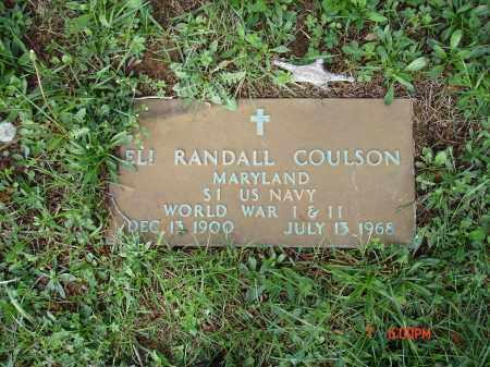 COULSON, ELI RANDALL - Cecil County, Maryland | ELI RANDALL COULSON - Maryland Gravestone Photos