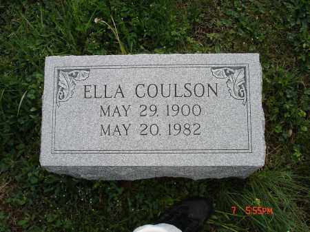COULSON, ELLA - Cecil County, Maryland | ELLA COULSON - Maryland Gravestone Photos
