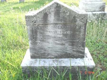 COULSON, FANNIE M. - Cecil County, Maryland | FANNIE M. COULSON - Maryland Gravestone Photos
