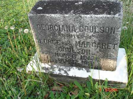COULSON, GEORGIANA - Cecil County, Maryland   GEORGIANA COULSON - Maryland Gravestone Photos