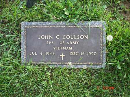 COULSON, JOHN C. - Cecil County, Maryland | JOHN C. COULSON - Maryland Gravestone Photos