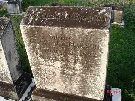COULSON, MARY DEBROAH BROMWELL - Cecil County, Maryland | MARY DEBROAH BROMWELL COULSON - Maryland Gravestone Photos