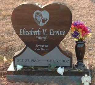 ERVINE, ELIZABETH - Cecil County, Maryland | ELIZABETH ERVINE - Maryland Gravestone Photos