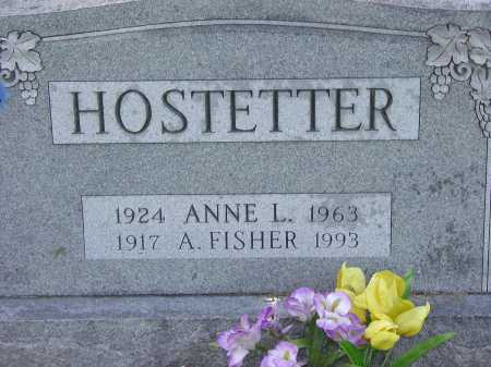 HOSTETTER, A. FISHER - Cecil County, Maryland | A. FISHER HOSTETTER - Maryland Gravestone Photos