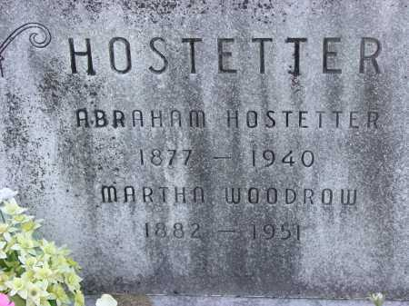 WOODROW HOSTETTER, MARTHA - Cecil County, Maryland | MARTHA WOODROW HOSTETTER - Maryland Gravestone Photos